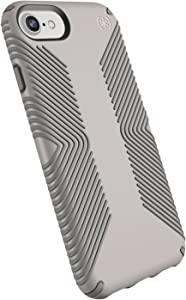 Speck Products Presidio Grip iPhone SE 2020 Case/iPhone 8/7/6S/6 - CATHEDRAL GREY/SMOKE GREY - 106289-6922