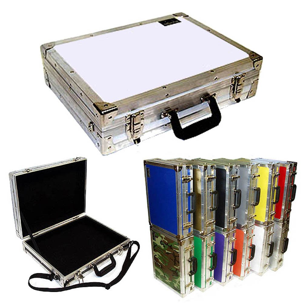 Id 17 1//2 X 12 3//4 X 3 3//4 High Briefcase ATA Style Color White Std Size
