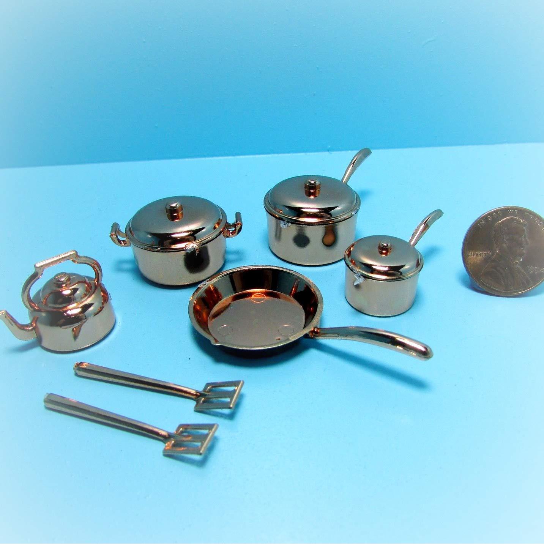 Amazon.com: Dollhouse KL1042 - Juego de utensilios de cocina ...