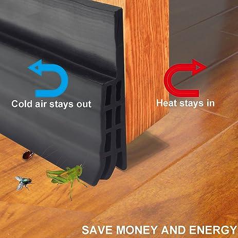 bottom door sweep. door bottom seal strip under sweep weather stripping energy \u0026 money saving draft
