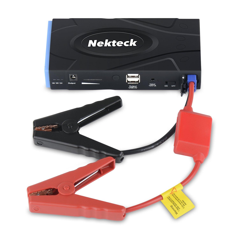 nekteck multifunction car jump starter portable power bank. Black Bedroom Furniture Sets. Home Design Ideas