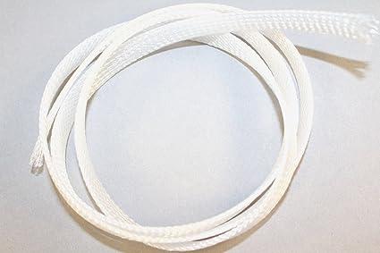 Tejido Trenzado Manguera Manguera Cable - ø10 mm transparente por ...
