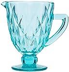 Jarra de Vidro Diamond Lyor Azul Tiffany 1L