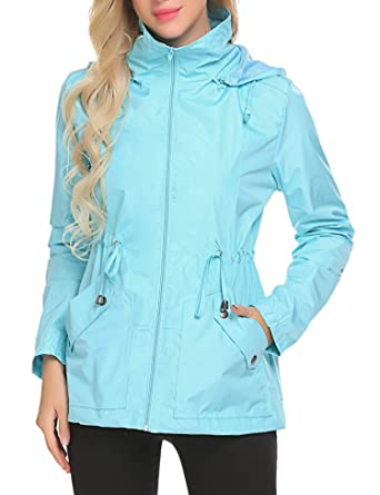 Chaqueta impermeable ligera mujer