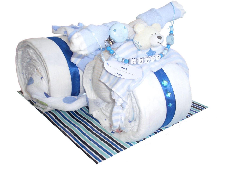 Windeltorte Motorrad inkl. Schnullerkette mit Namen, Babyausrüstung Babyausrüstung Eigenherstellung 328051