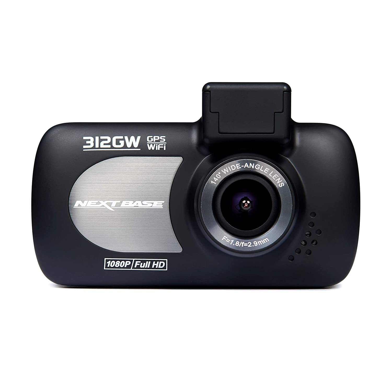 8eceeee73ed Nextbase 312GW - Full 1080p HD In-Car Dash Camera DVR - 140° Viewing Angle  - WiFi and GPS - Black  Amazon.co.uk  Electronics