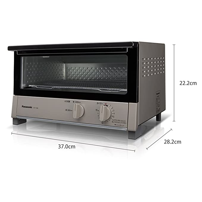 Amazon.com: Panasonic Oven Toaster be-zyumetarikku NT - T300 ...