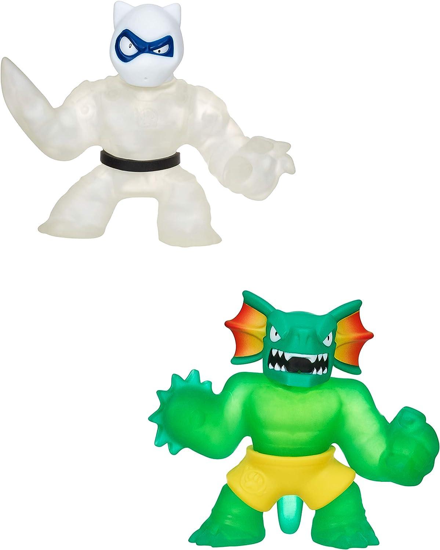 Heroes of Goo Jit Zu-Pantaro and Reptaur Hero Pack