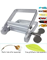 Atfung Rolling Toothpaste Tube Squeezer Metal for Toothpaste, Paint, Hair Color Dye, Hand Cream