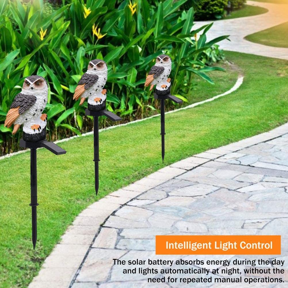 sumicorp.com cypressen Eule Solar Garten Licht Auen LED Solar ...
