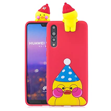 Amazon.com : Ostop Soft Liquid Silicone Case for Huawei P20 ...