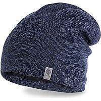 PaMaMi Wintermütze 17012 | warme Mütze für Herren | Slouch Beanie | weiches Material | Strickmütze für Herbst Winter geeignet
