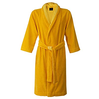Armani International Lounge Bath Robe Slippers Set Daffodil-Golden Haze | Made In Europe