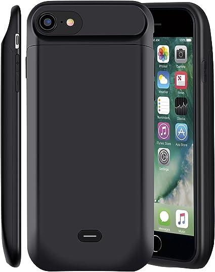 MSDJK Custodia Batteria iPhone 8/7,5000 mAh Power Bank, Cover con Esterna Supplementare Ricaricabile Caricabatterie per Apple iPhone 7/8(4.7