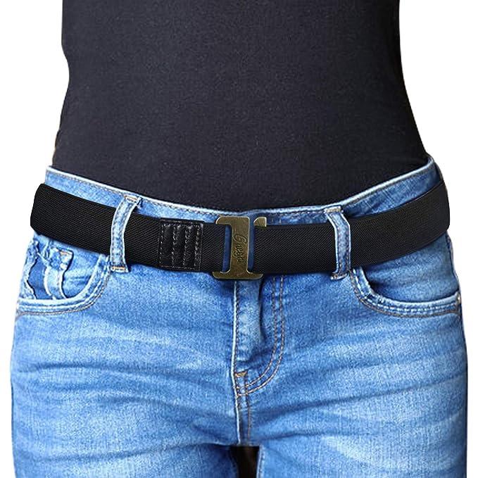 Amazon.com: Cinturón elástico ajustable para hombres y ...