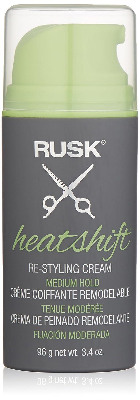 RUSK Heatshift Re-Styling Cream, 3.4 fl. oz.