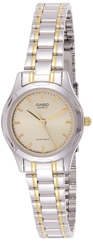 Amazon.com: Casio ltp1275g-9 a de la mujer Dial de Oro Reloj ...