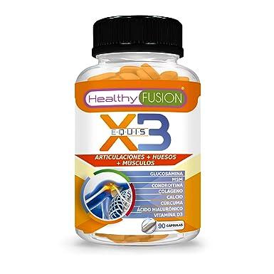 Potente Cúrcuma Orgánica + Colágeno + Condroitina + Glucosamina - Elimina el Dolor en Músculos, Articulaciones y Huesos - Potente Antiinflamatorio - ...