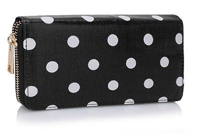 LeahWard Señoras mujer es Moda desigual Polka Dots Printed ...