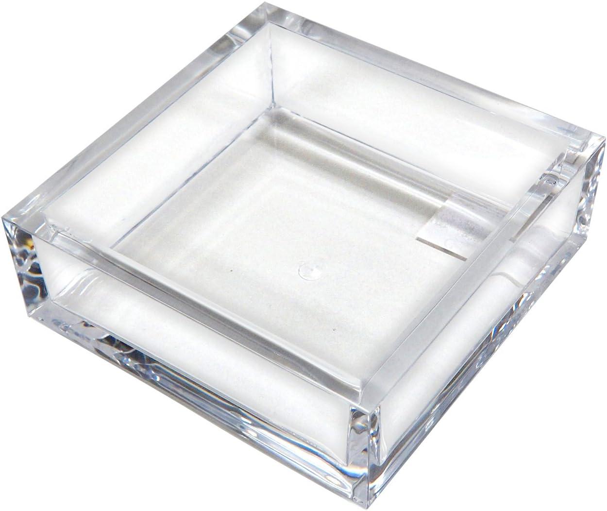 Caspari Acrylic Luncheon Napkin Holder, Clear, 1