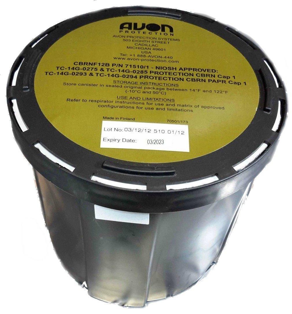 AVON CBRNF12B FILTER - 40MM Thread Gas Mask Filter by Avon (Image #1)