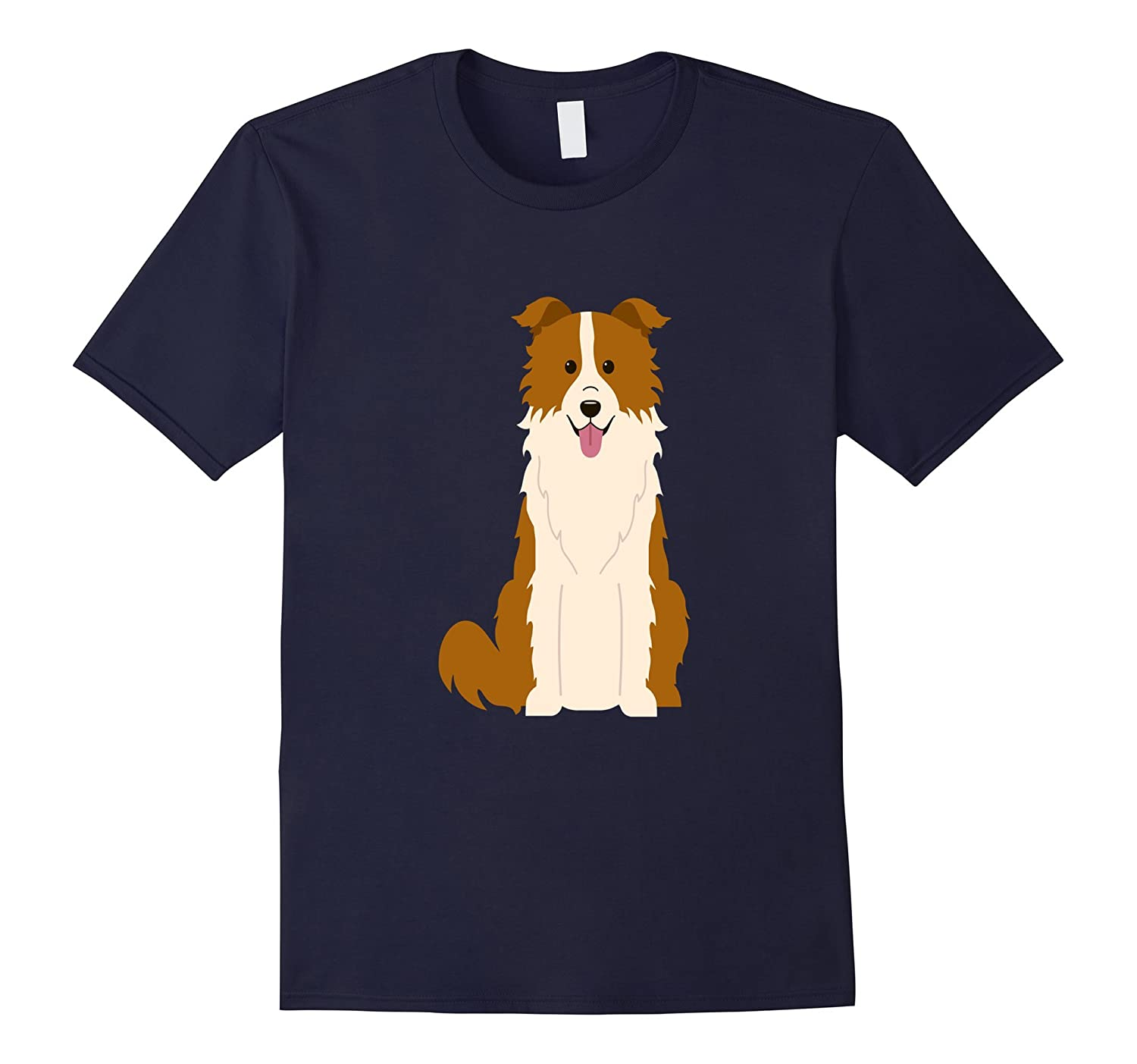 Border Collie Dog Shirt Dogs Mom Dad Puppy Pet Gift-azvn