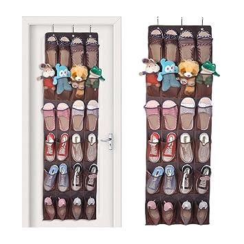 à suspendre à une porte, support de de de SunBleu, 24 Poche à chaussures c60add