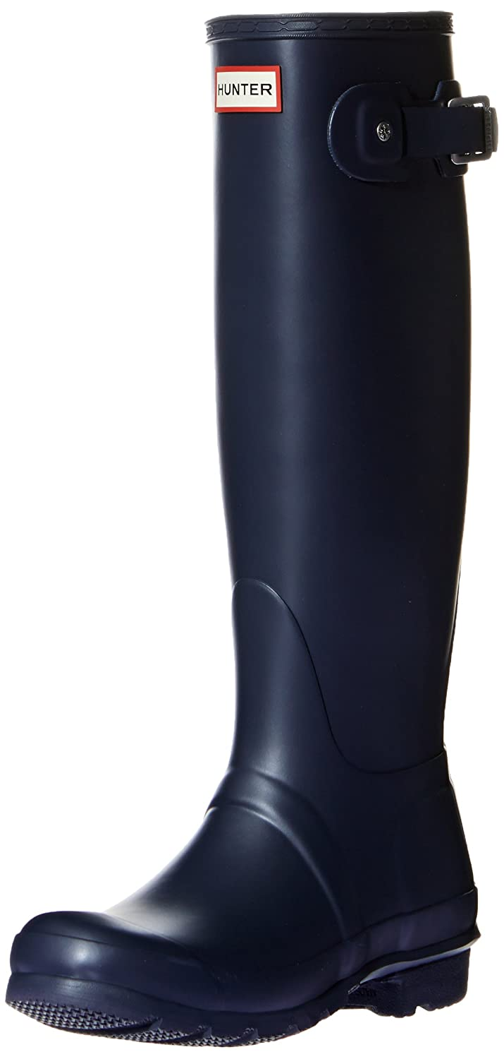 Hunter Women's Original Tall Rain Boot B00K1XAY98 7 B(M) US|Navy