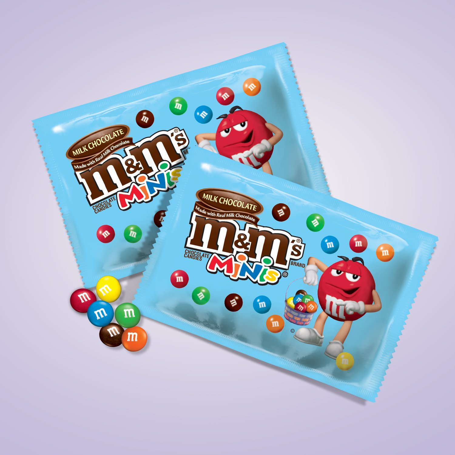 Amazon.com : M&M'S Easter Milk Chocolate Fun Size MINIS Size Candy ...