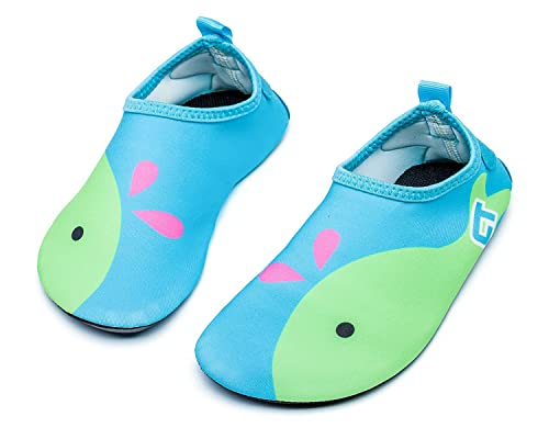 b10be844488a Adorllya Toddler Baby Water Shoes Barefoot Aqua Socks Swim Shoes for Kids  Boys Girls Beach Pool