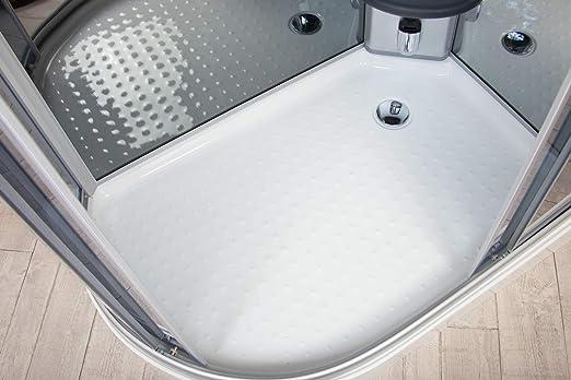 Box ducha hidromasaje Atenas 120 x 80 Izquierda Sauna Baño Turco y Ozono: Amazon.es: Bricolaje y herramientas