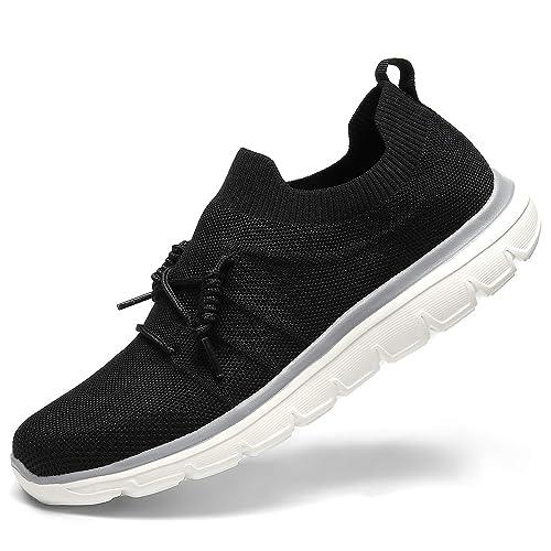 1cdd813407c0c GM GOLAIMAN Men's Knit Walking Shoes Mesh Sneakers