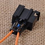 Easyget Fiber MOST Optical Optic Loop Bypass Female Adapter For Mercedes Benz, Audi, VW, Porsche