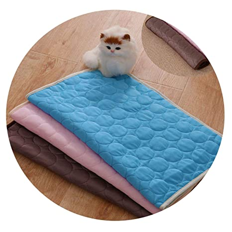 Prime Amazon Com Zzmeet Summer Cooling Mats Blanket Pet Dog Bed Machost Co Dining Chair Design Ideas Machostcouk