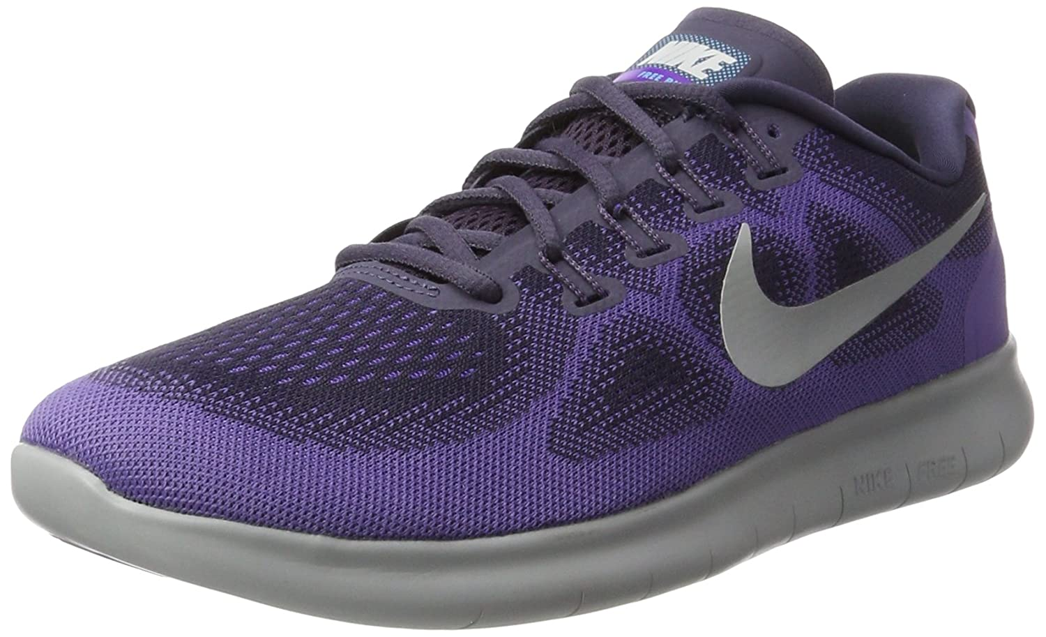 NIKE Women's Free RN 2017 Running Shoe B01K0NQPI2 7.5 B(M) US|Dark Raisin/Pure Platinum-purple Earth