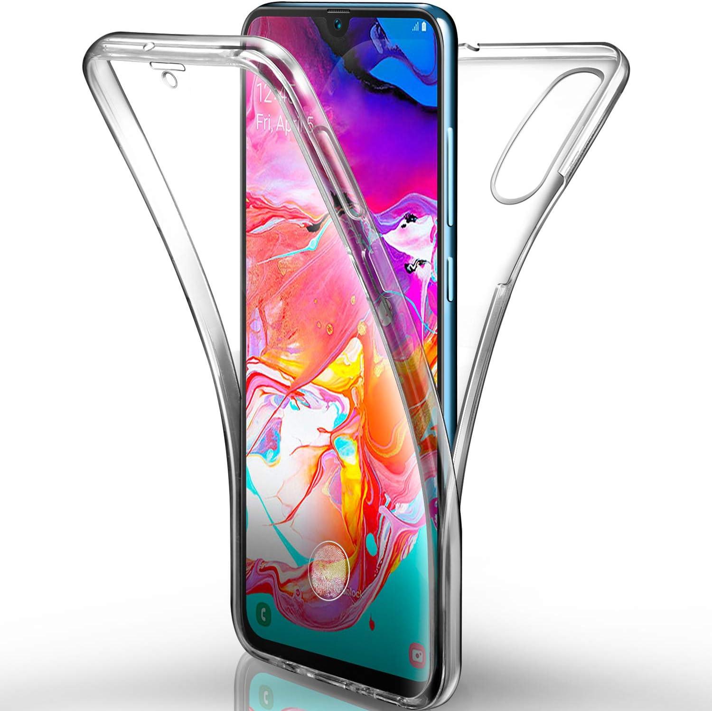AROYI Funda Samsung Galaxy A70 Transparente,Silicona Doble Cara ...