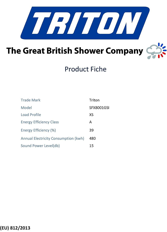 Triton T80gsi 105kw Electric Shower Diy Tools Volume Control Wiring Diagram Tritton