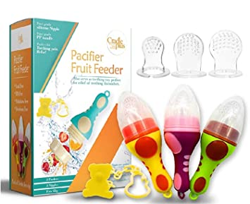 Baby Fresh Food Fruit Soother Non-toxic Silicone Feeding Pacifier Nipple Gift