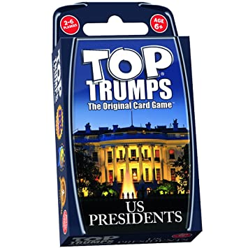 Top Trumps Rules >> Us Presidents Top Trumps Card Game