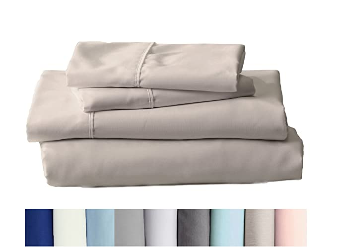 Claudette colección egipcio calidad Juego de sábanas de microfibra doble cepillado. Hipoalergénico, arruga y resistente a la decoloración Hotel sábanas de ...