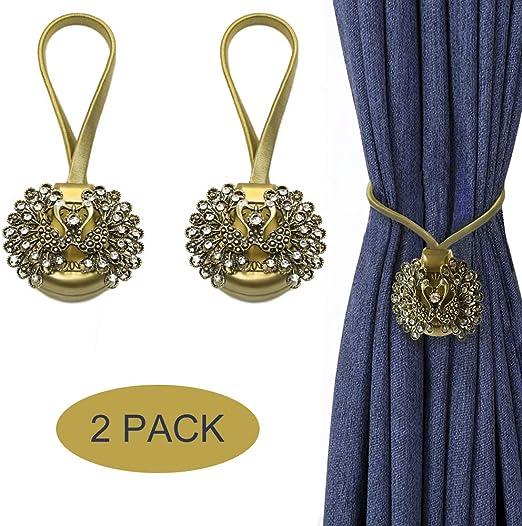 Curtain Clip Sunflower Tie Back Clasps Tieback Holdback Holder Buckle 3 Colours