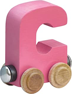 product image for NameTrain Pastel Letter Car C - Made in USA