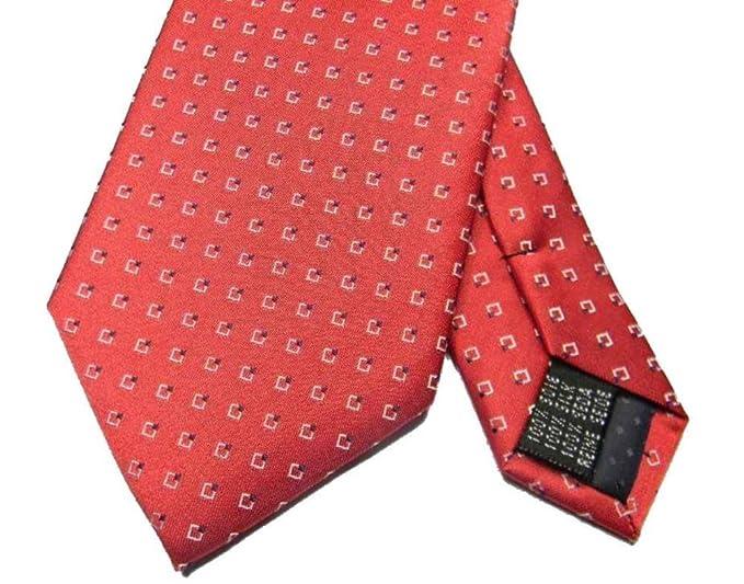 ultimi progetti diversificati migliore bene fuori x Cravatta in seta rossa uomo con disegni classici cravatte ...