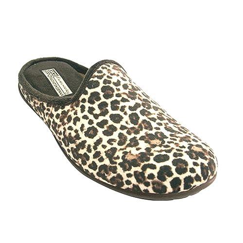Chanclas Mujer de Leopardo Gioseppo en marrón Talla 41: Amazon.es: Zapatos y complementos