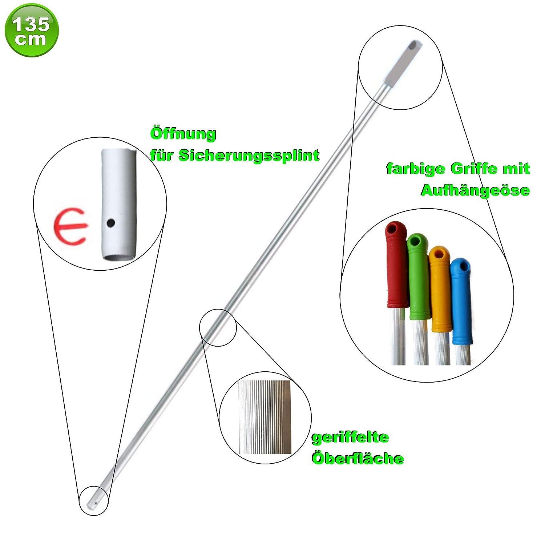 Set mit 5 Wischmopp Wischmop Acryl Industriequalität waschbar waschbar waschbar in 40 50 60 80 cm (60 cm) B01E8ZM3CK Bodenwischer & Mopps 64f120