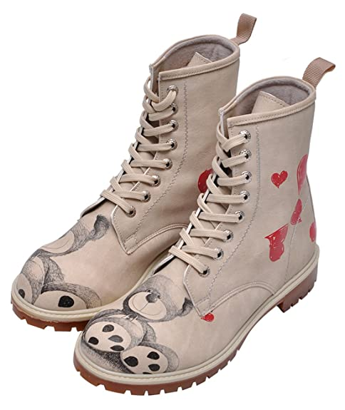 Dogo Shoes Botas Teddy Bear Blanco EU 36  Amazon.es  Zapatos y complementos 56e98950bfb