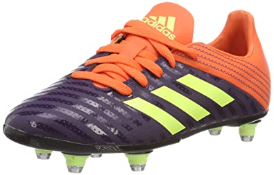 28075f433e857 Amazon.com | adidas Malice Kid's Rugby Boots SG | Rugby