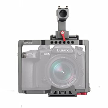 waraxe GH5 Kit cámara Jaula Integrado Compatible con Arca Swiss de ...