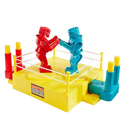 Mattel Games ROCK 'EM SOCK 'EM ROBOTS Game, Multicolor (CCX97): Toys & Games