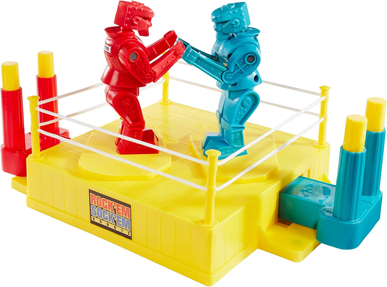 Mattel Rock Em Sock Em Robots, Juego, Multicolor (CCX97): Amazon ...